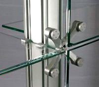 Конструкции из закаленного стекла